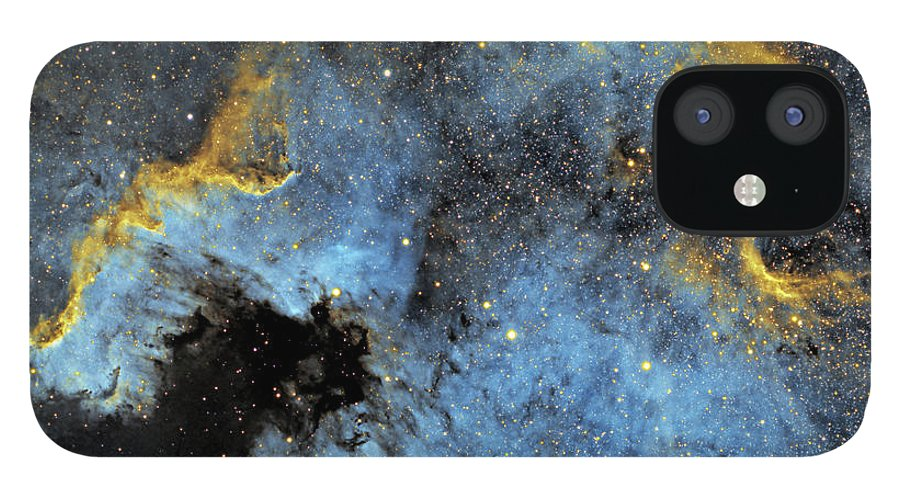 Nebula IPhone 12 Case featuring the photograph The North America Nebula by Prabhu Astrophotography