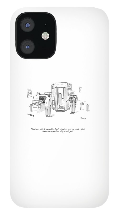 The X-ray Machine IPhone 12 Case