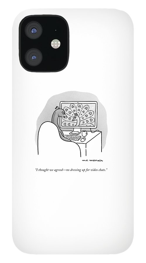 Video Chat IPhone 12 Case