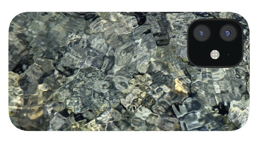 Water IPhone 12 Case featuring the photograph Water Rocks 1 by Andre Aleksis