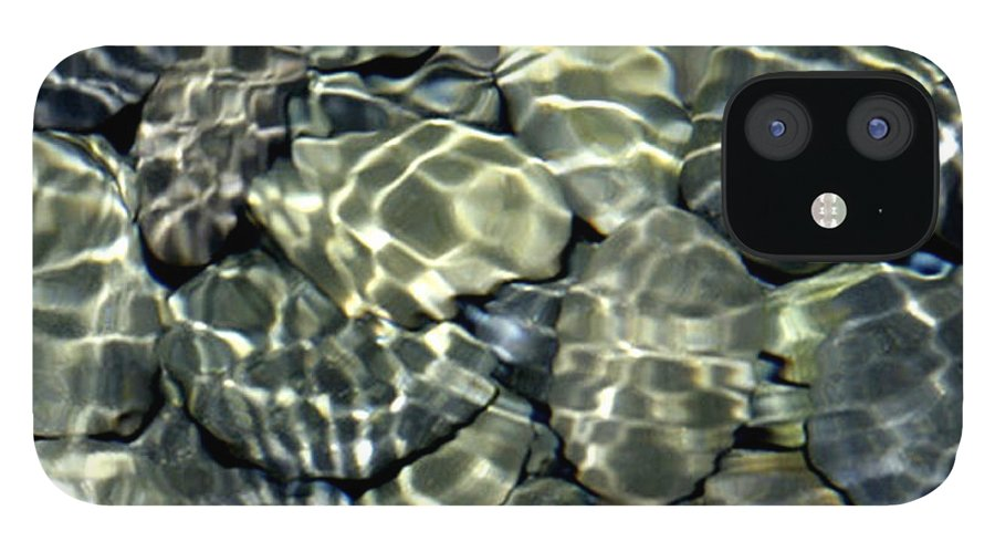 Water IPhone 12 Case featuring the photograph Water Rocks 2 by Andre Aleksis