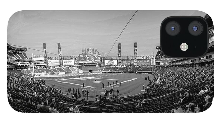 White Sox IPhone 12 Case featuring the photograph White Sox Park by David Bearden