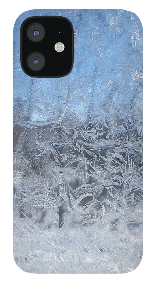 Winter IPhone 12 Case featuring the photograph Winter Frost by Trevor Slauenwhite