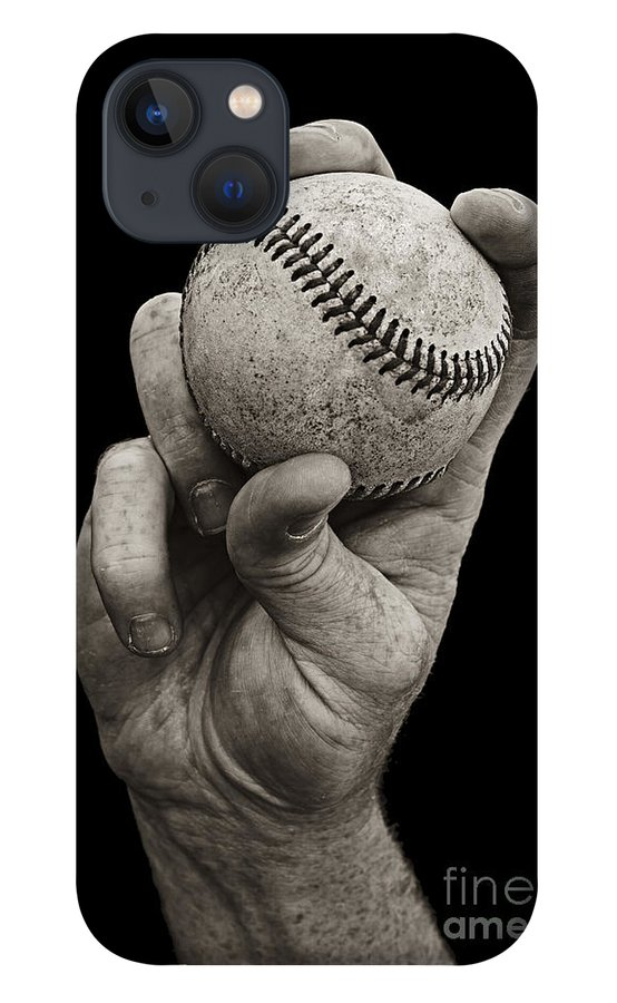 Baseball iPhone 13 Case featuring the photograph Fastball by Diane Diederich