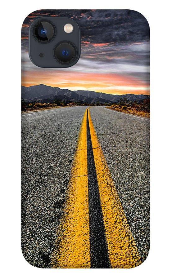 Desert Landscape iPhone 13 Case featuring the photograph On Our Way by Ryan Weddle