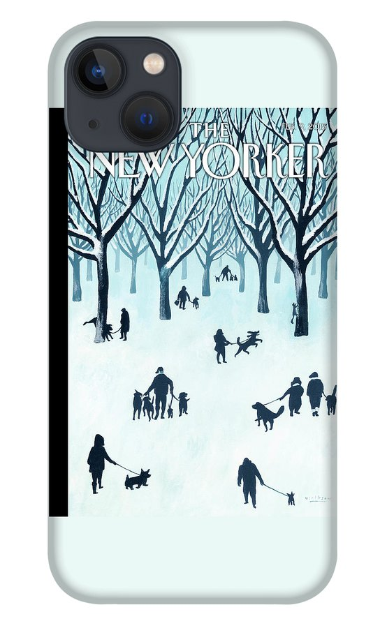 A Walk In The Snow iPhone 13 Case
