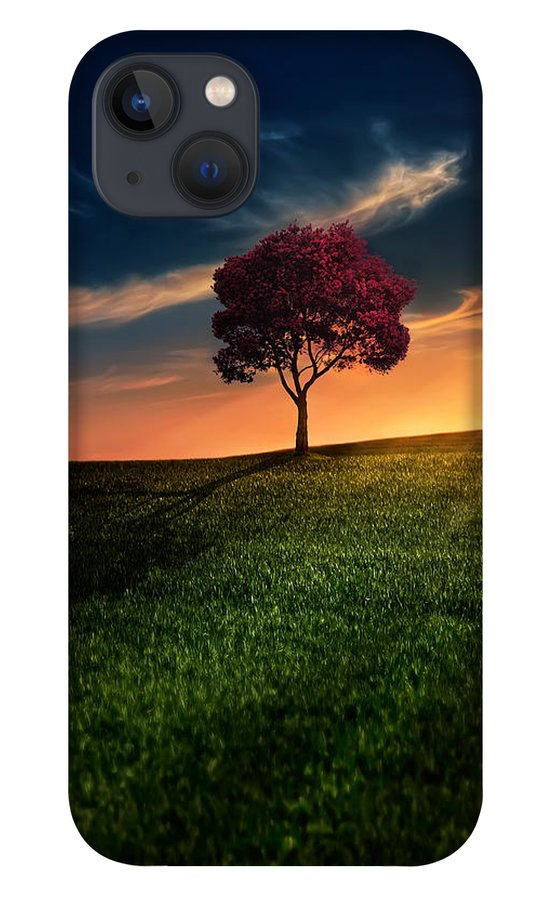 Agriculture iPhone 13 Case featuring the photograph Awesome Solitude by Bess Hamiti
