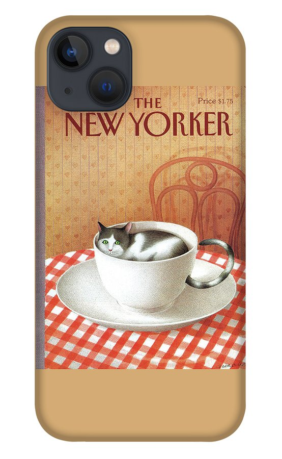 New Yorker January 6, 1992 iPhone 13 Case