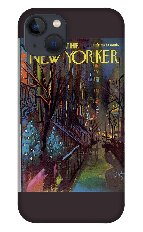 Christmas In New York iPhone 13 Case