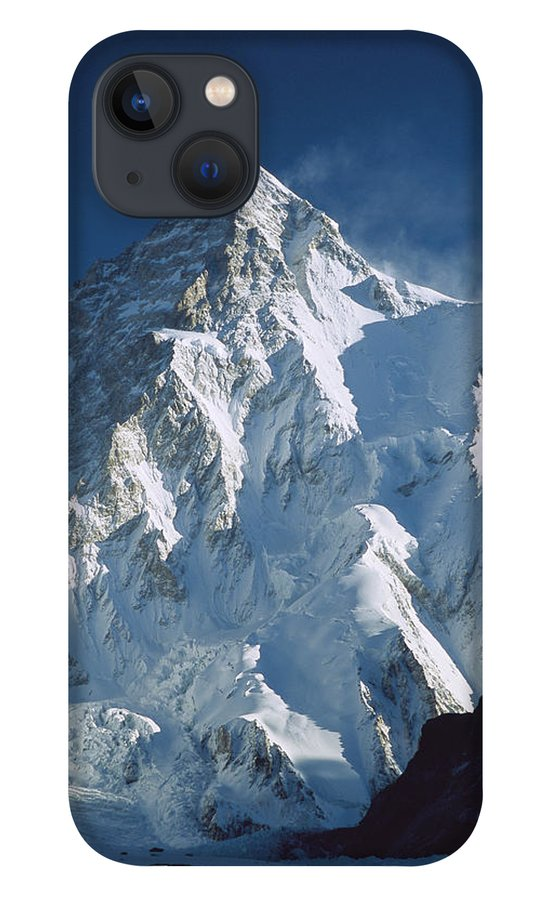 Feb0514 iPhone 13 Case featuring the photograph K2 At Dawn Pakistan by Colin Monteath