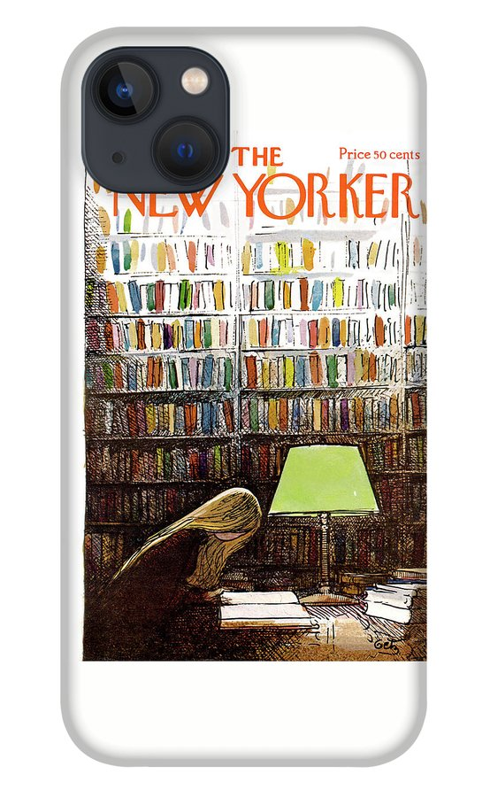 New Yorker March 3, 1973 iPhone 13 Case
