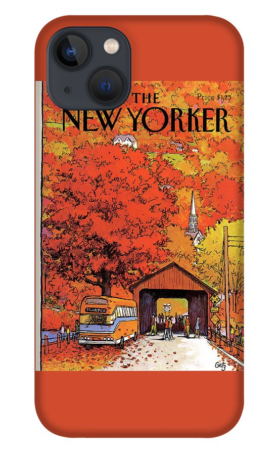 New Yorker October 19th, 1981 iPhone 13 Case