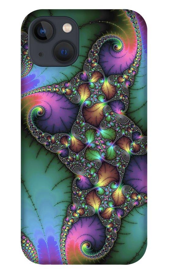 Fractal Art iPhone 13 Phone Case