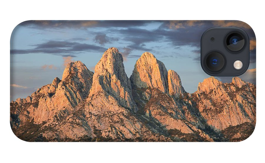 00438928 iPhone 13 Case featuring the photograph Organ Mountains Near Las Cruces New by Tim Fitzharris