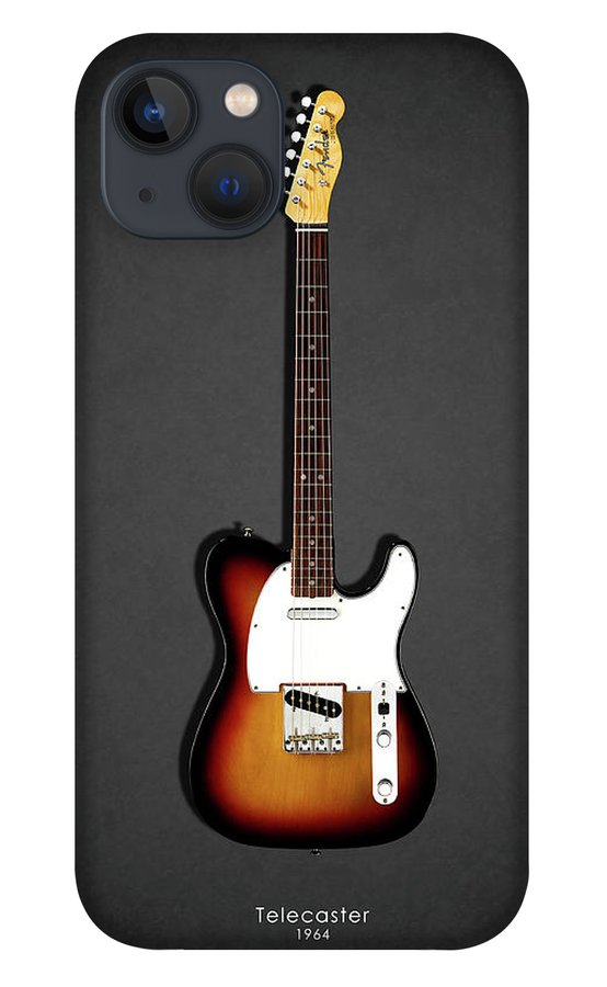Fender Telecaster iPhone 13 Case featuring the photograph Fender Telecaster 64 by Mark Rogan