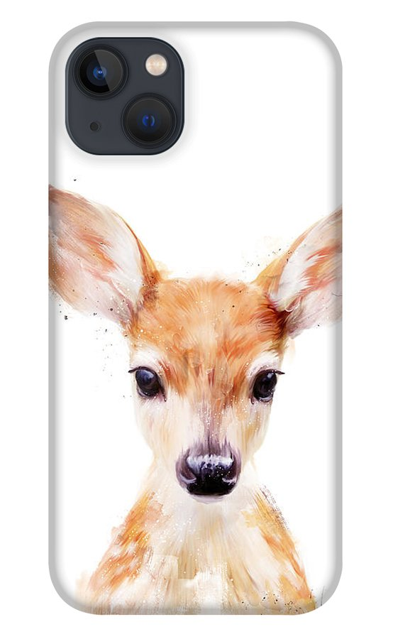 Fawn iPhone 13 Case featuring the painting Little Deer by Amy Hamilton