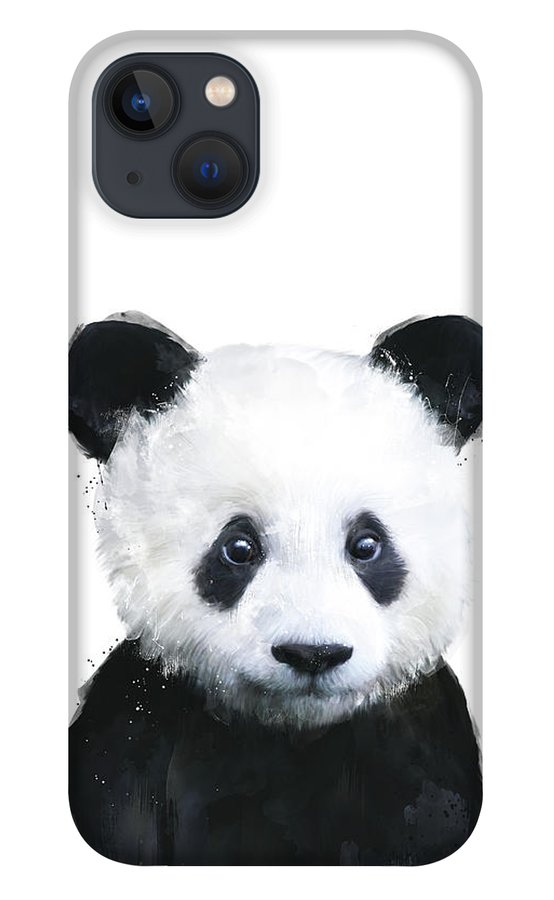 Panda iPhone 13 Case featuring the painting Little Panda by Amy Hamilton