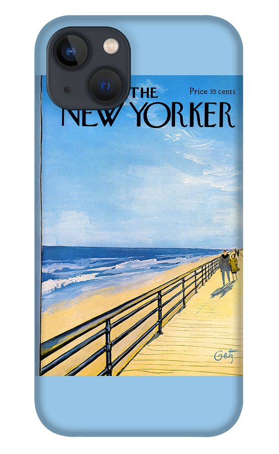 The New Yorker Cover - April 1st, 1967 iPhone 13 Case