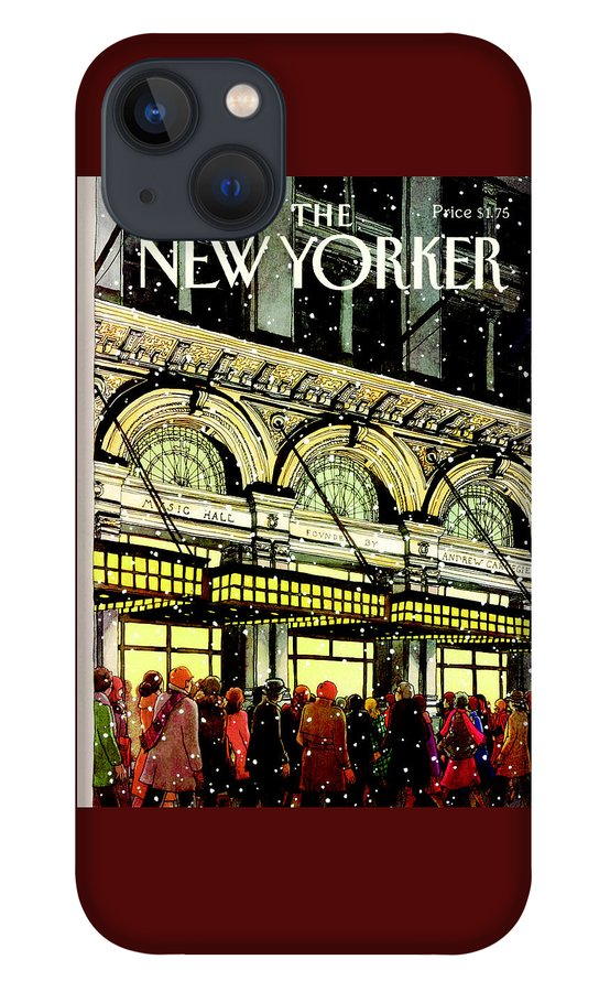 The New Yorker Cover - January 18th, 1988 iPhone 13 Case