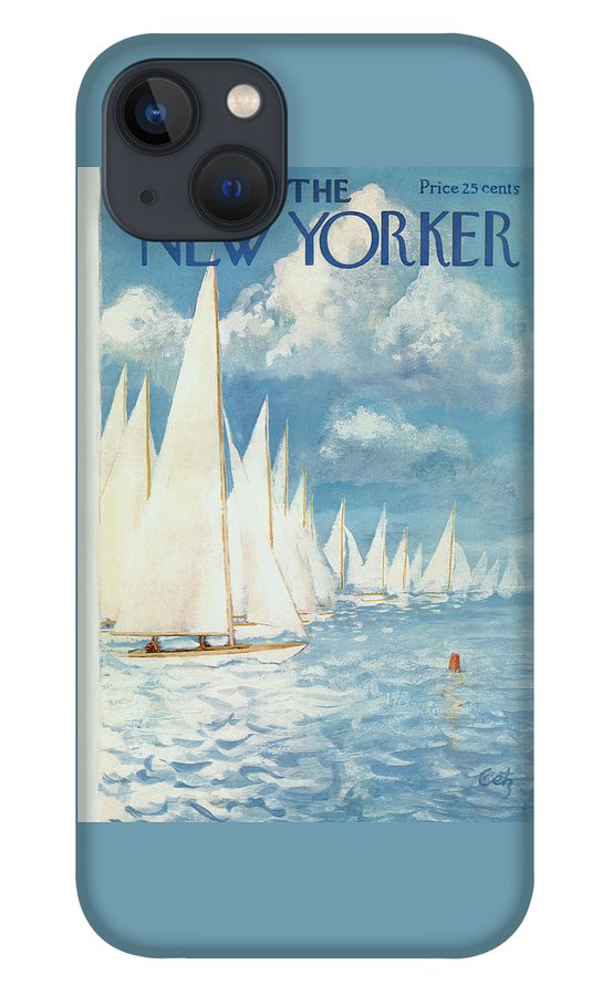 New Yorker Cover - June 13th, 1959 iPhone 13 Case