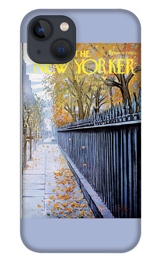 New Yorker October 19, 1968 iPhone 13 Case