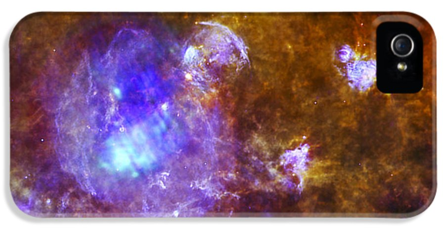 3scape Photos IPhone 5 Case featuring the photograph Life And Death In A Star-forming Cloud by Adam Romanowicz