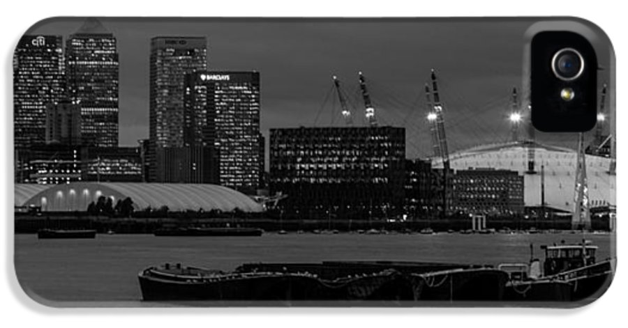 Docklands IPhone 5 Case featuring the photograph London Docklands by Dawn OConnor