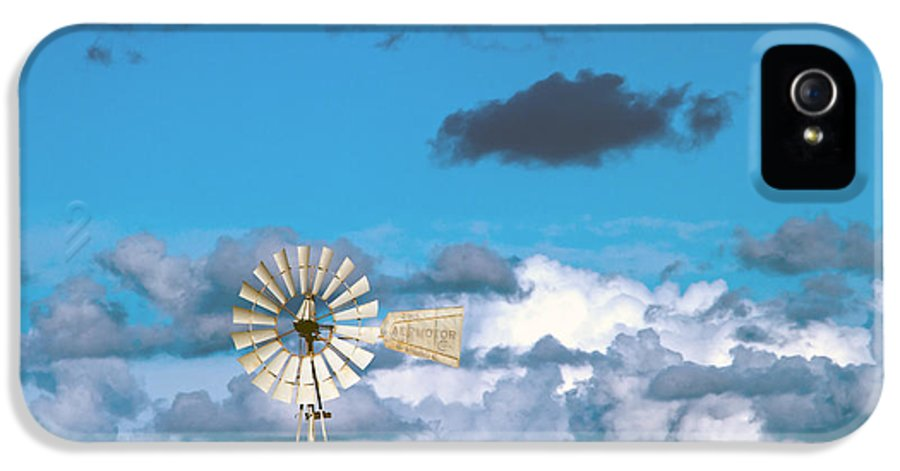 Alternative IPhone 5 Case featuring the photograph Water Windmill by Stelios Kleanthous