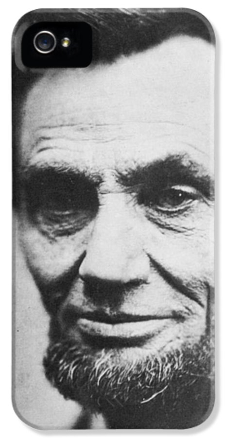 1809-1865 IPhone 5 Case featuring the photograph Abraham Lincoln by Anonymous
