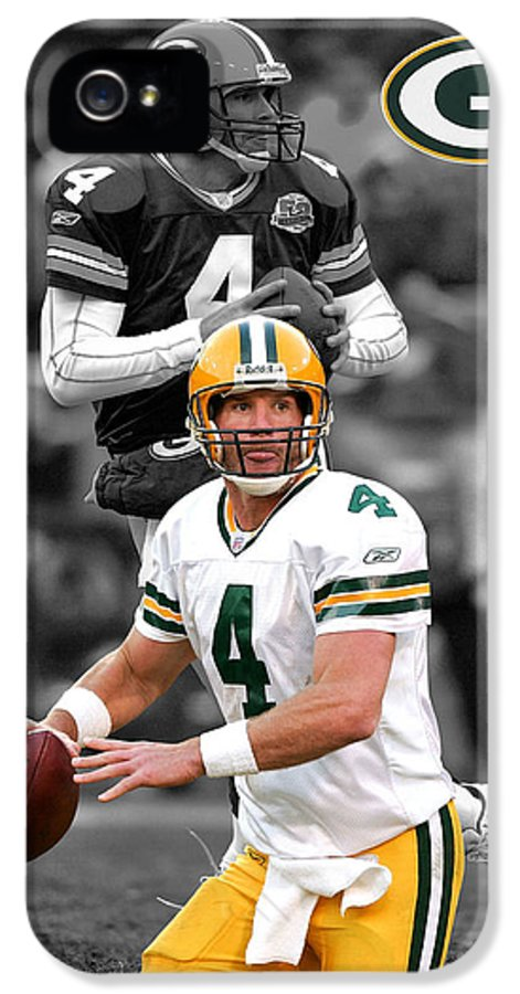 Brett Favre IPhone 5 Case featuring the photograph Brett Favre Packers by Joe Hamilton