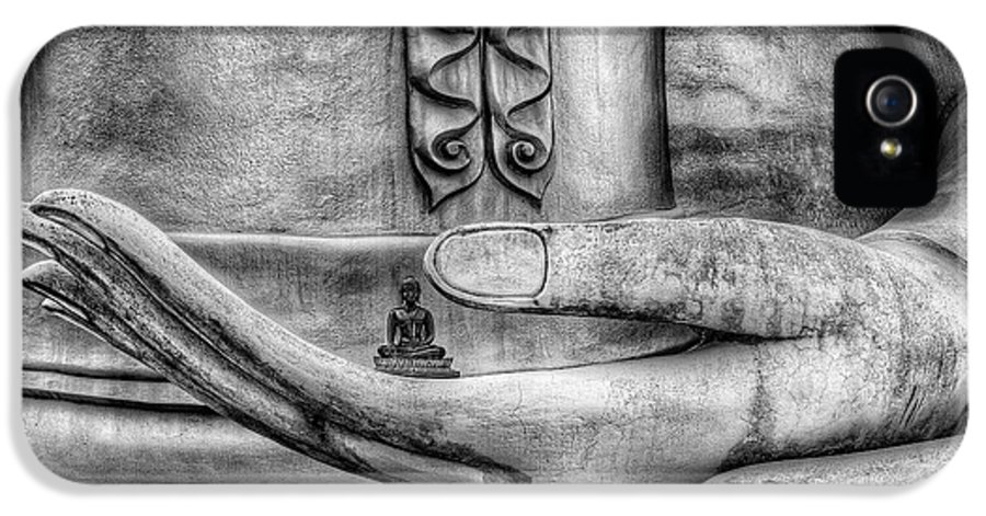 Architecture IPhone 5 Case featuring the photograph Buddha Hand by Adrian Evans