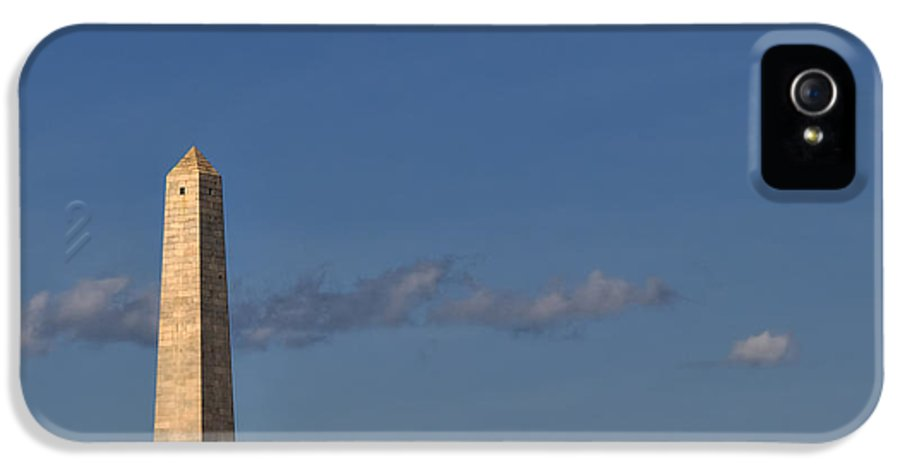 Boston IPhone 5 Case featuring the photograph Bunker Hill Monument - Boston by Joann Vitali
