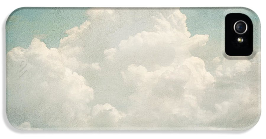Brett IPhone 5 Case featuring the digital art Cloud Series 3 Of 6 by Brett Pfister
