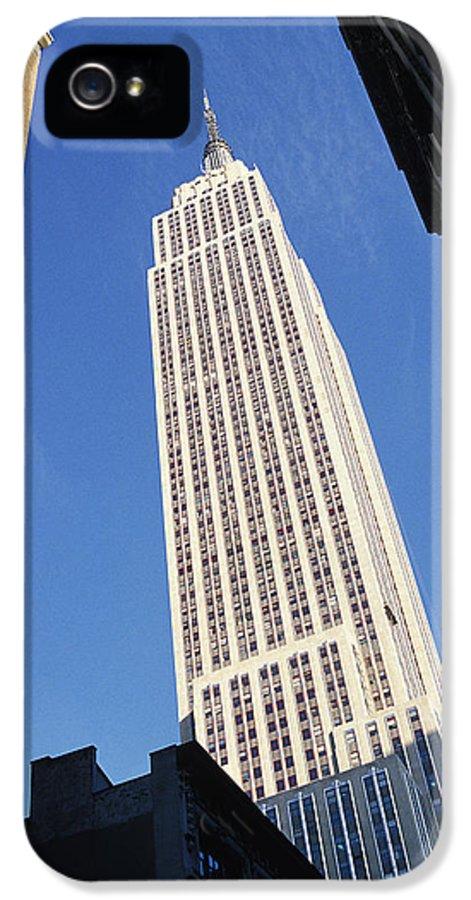 Empire State Building Canvas Prints IPhone 5 Case featuring the photograph Empire State Building by Jon Neidert