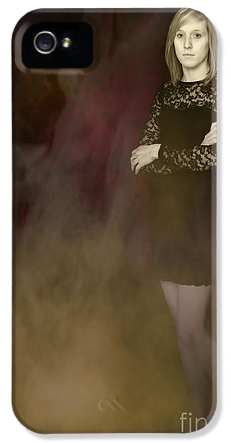 Fantasy IPhone 5 Case featuring the photograph Fantasy Portrait by Amanda Elwell