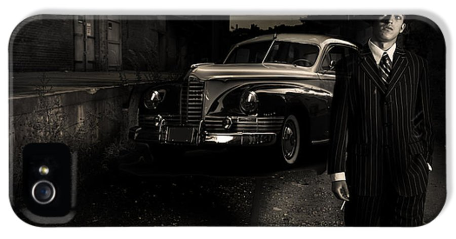 Gangster IPhone 5 Case featuring the photograph Gangster by Diane Diederich