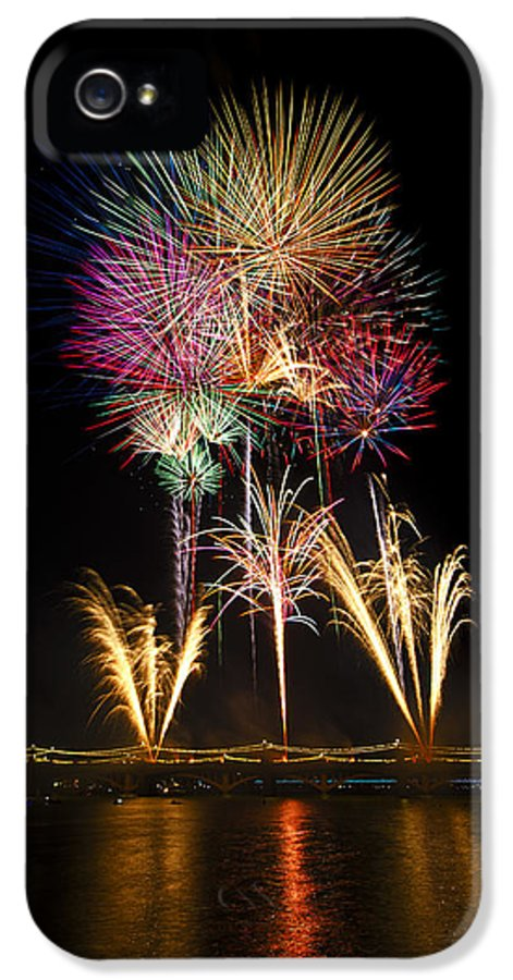July 4th IPhone 5 Case featuring the photograph Independence Day by Saija Lehtonen
