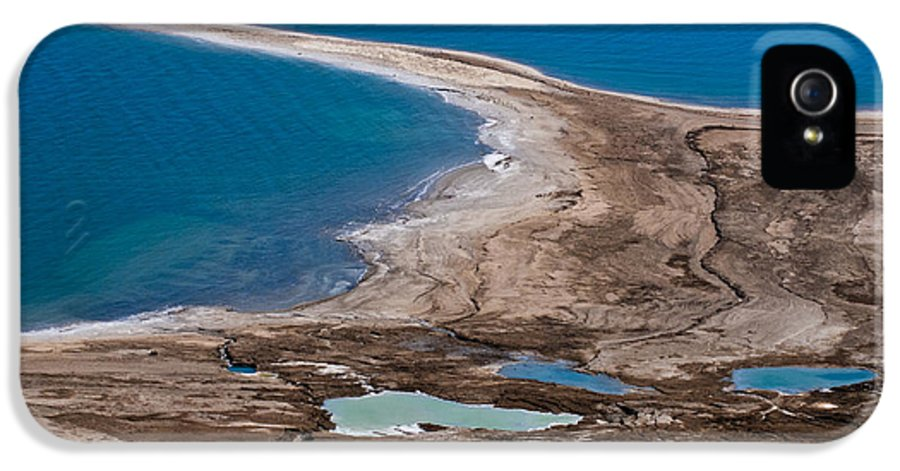 Dead Sea IPhone 5 Case featuring the photograph Israel Dead Sea by Dan Yeger