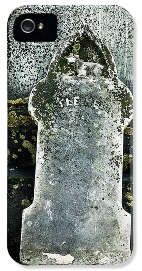 Death IPhone 5 Case featuring the photograph Little Nell by Edward Fielding