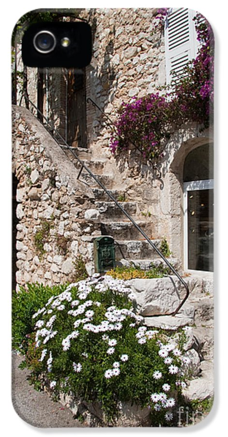 France IPhone 5 Case featuring the photograph Medieval Saint Paul De Vence 3 by David Smith