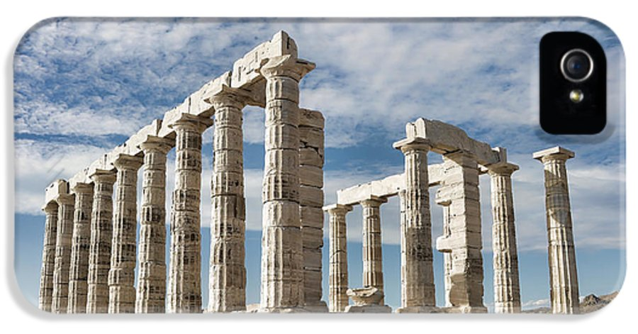 Ancient IPhone 5 Case featuring the photograph Poseidon's Temple by Gabriela Insuratelu
