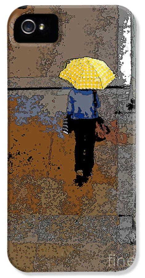 Rainy Days IPhone 5 Case featuring the photograph Rainy Days And Mondays by David Bearden