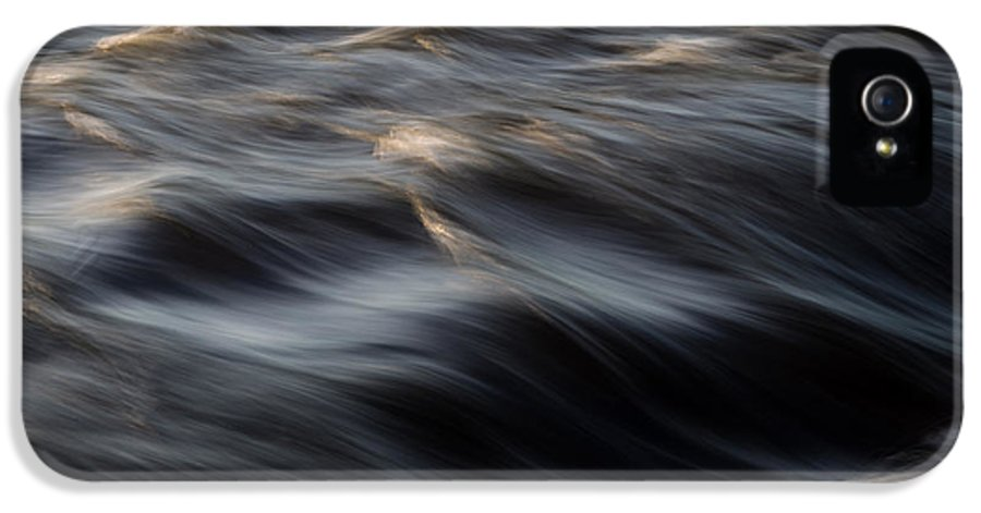 Water IPhone 5 Case featuring the photograph River Flow by Bob Orsillo