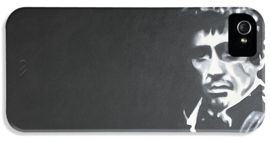 Scarface IPhone 5 / 5s Case featuring the painting Scarface 2013 by Luis Ludzska