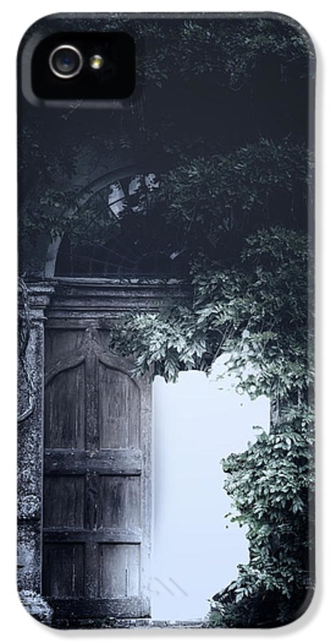 Door IPhone 5 Case featuring the photograph The Light by Joana Kruse