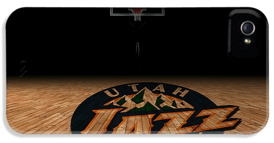 Jazz IPhone 5 Case featuring the photograph Utah Jazz by Joe Hamilton