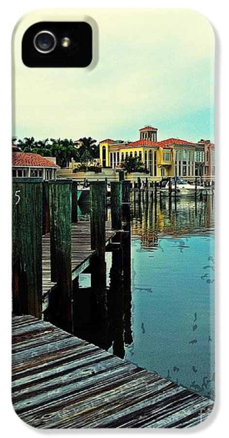 Southwest Florida IPhone 5 Case featuring the photograph View From The Boardwalk by K Simmons Luna