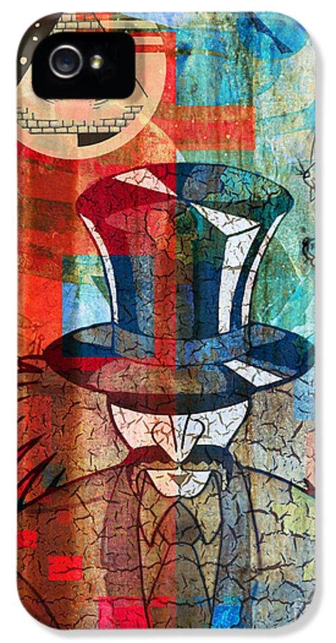 Digital Art IPhone 5 Case featuring the digital art Wonderland by Robert Ball