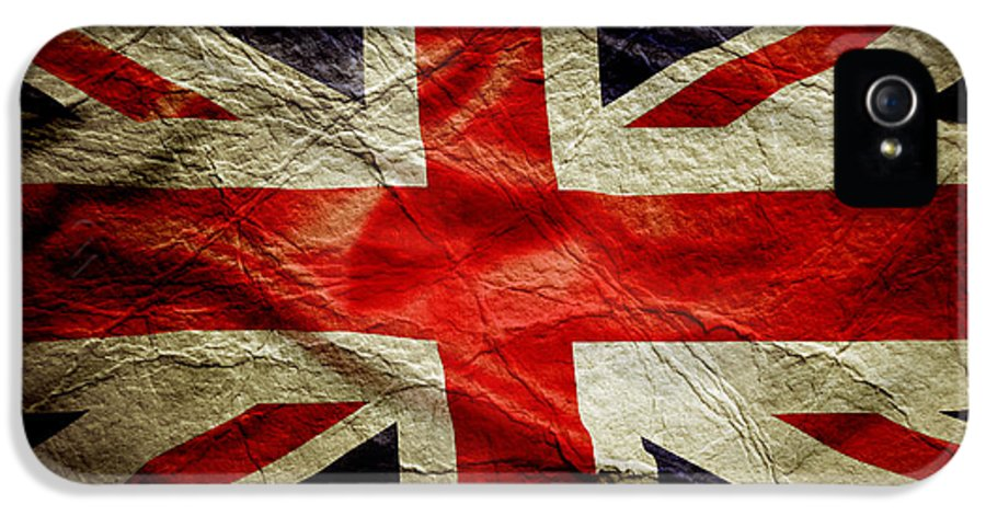 Flag IPhone 5 Case featuring the photograph Union Jack by Les Cunliffe