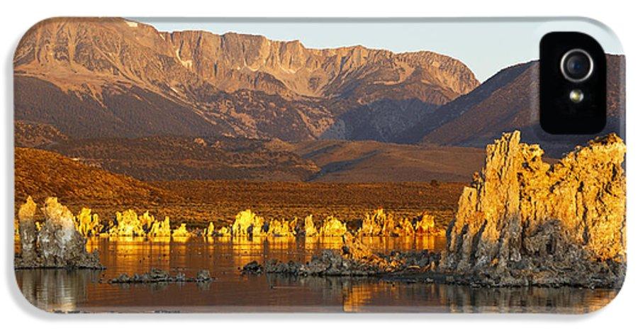 Mono Lake IPhone 5 Case featuring the photograph Mono Lake California by Jason O Watson